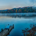 Lake Junaluska after the first frost